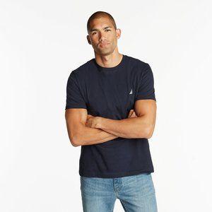Nautica Navy Blue Short Sleeve T-Shirt Men's XL